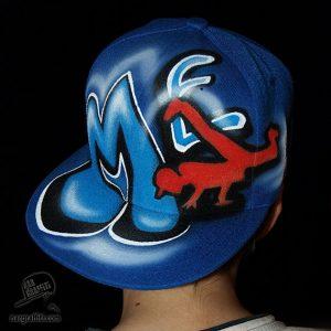 Custom Breakdance Snapback hat | ME