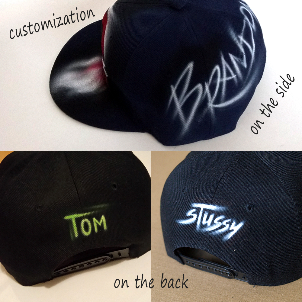 snapback customization by nargraffiti