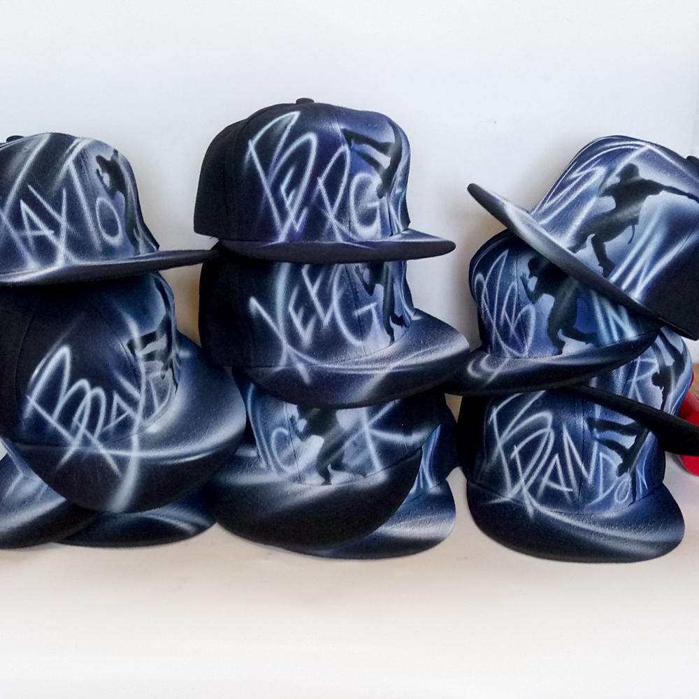 Dance Group Team Custom Personalized Snapback hats