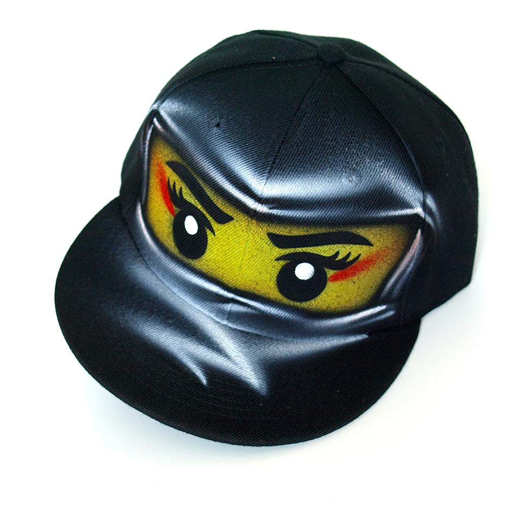 black ninja go girl NYA snapback hat