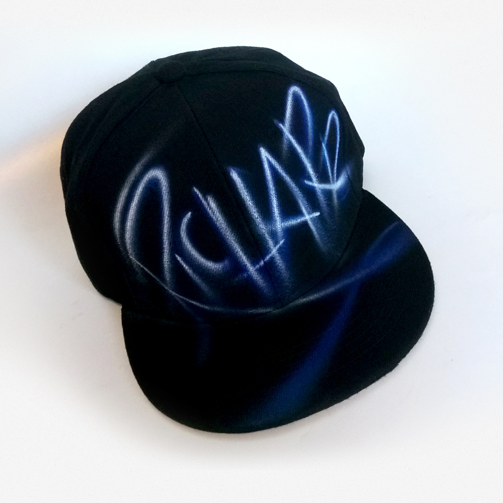 Custom Graffiti Name Snapback hat | Richard