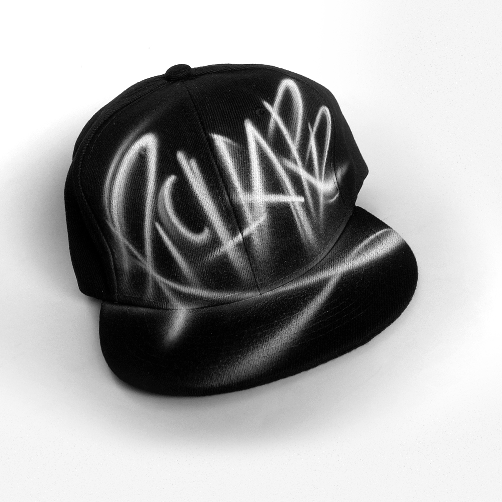 Custom hand painted Snapback hat | Richard
