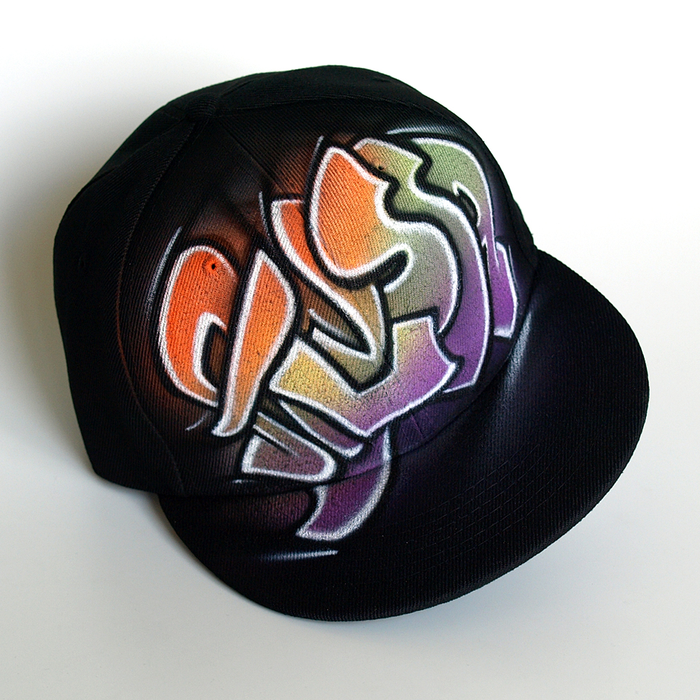 Custom Graffiti name Snapback hat | Alyssa