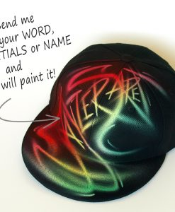 Custom Graffiti name Snapback hat | Jayzer Saret