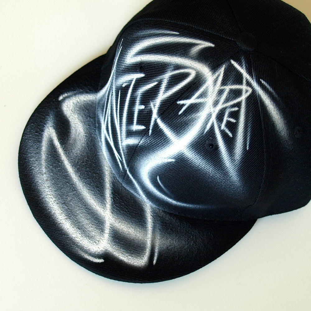 Custom Graffiti painted Snapback hat | Jayzer Saret