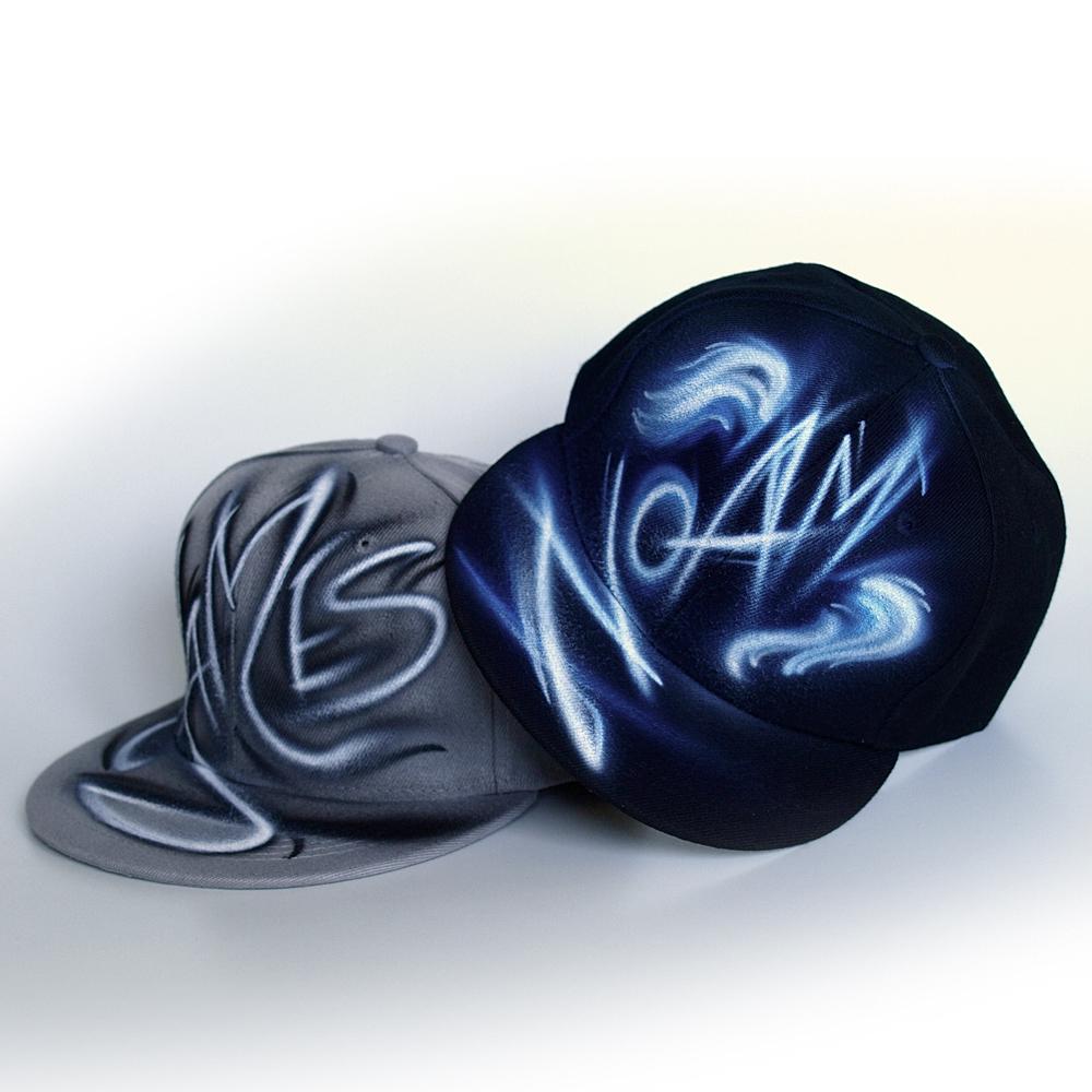 Custom Graffiti name Snapback hat | Noam