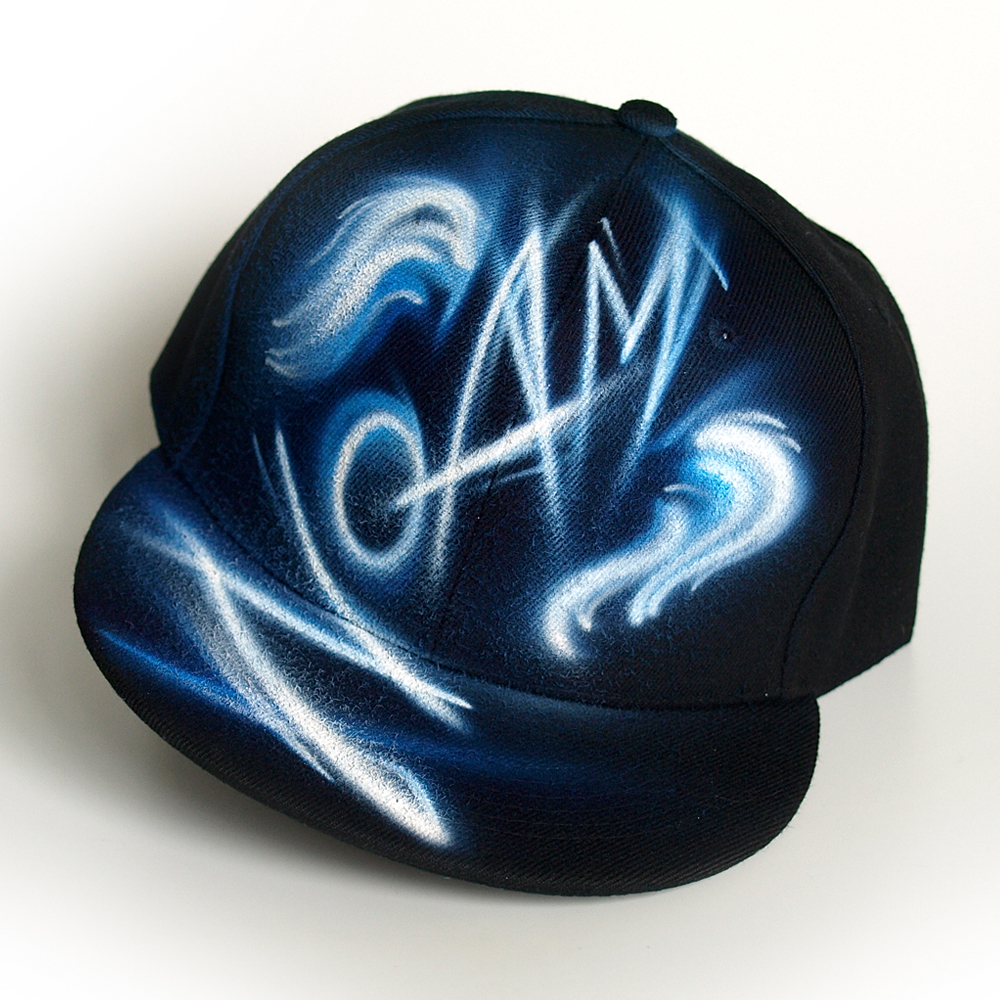 Custom Graffiti name Snapback hat | Noam