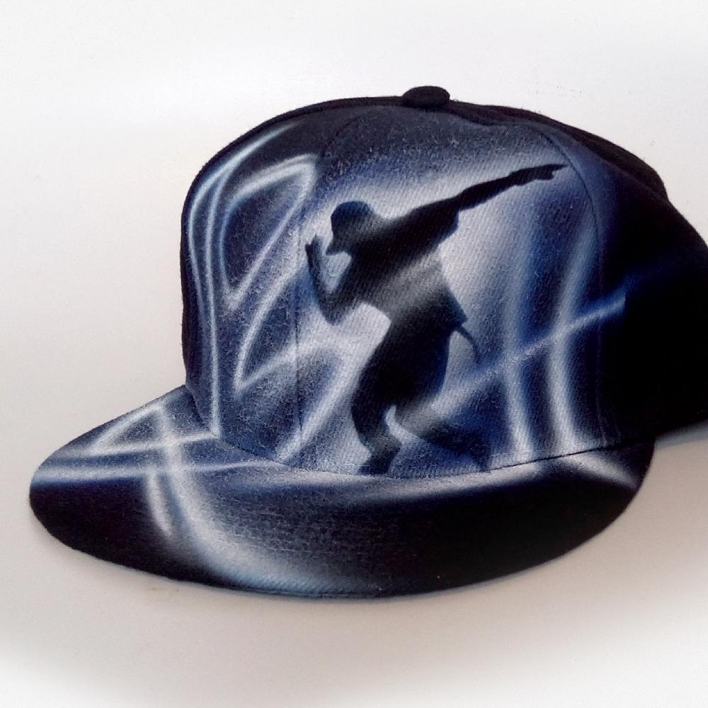 Custom Painted Snapback hat | Josh