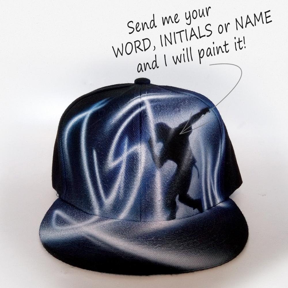 Airbrushed Dancer Snapback hat | Justin