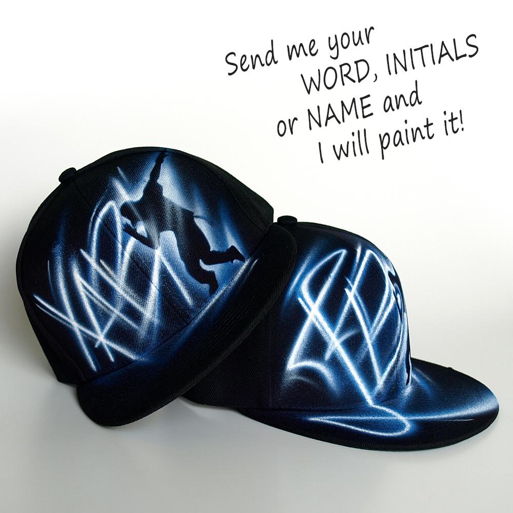 Custom Name Hip-Hop Snapback hat | JB