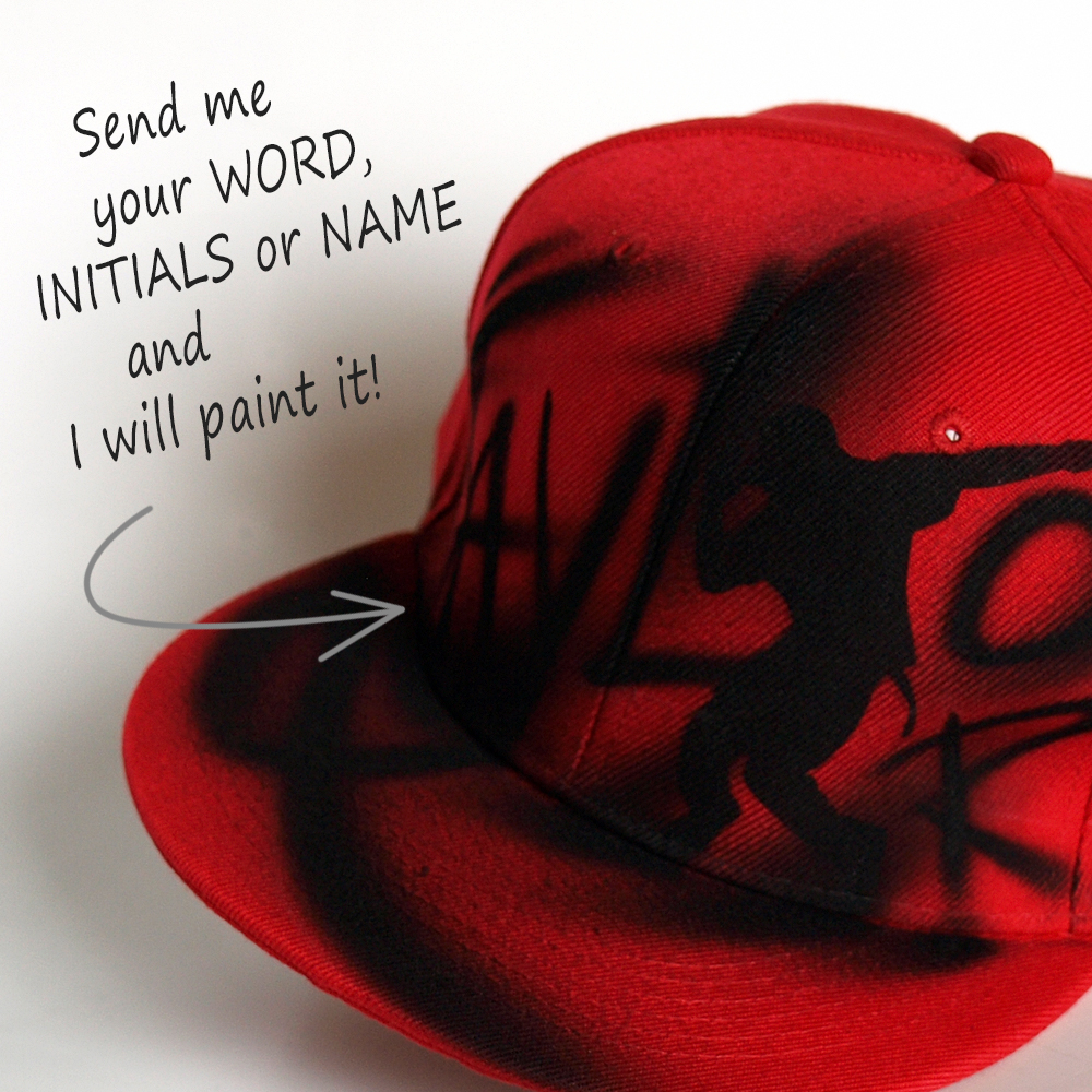 Painted Dance Snapback hat | Taylor