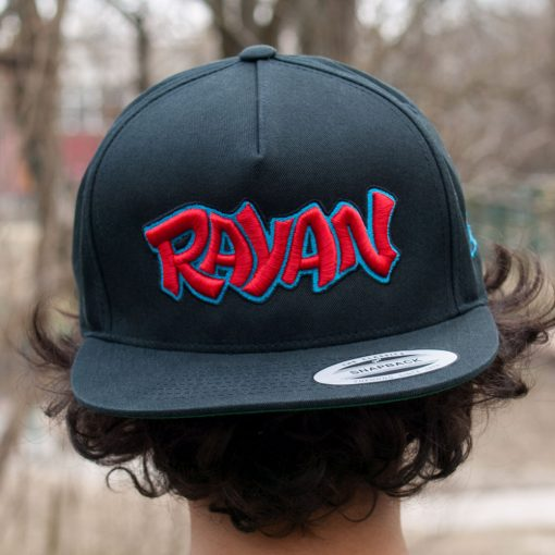 YOUR NAME Custom Designed Snapback
