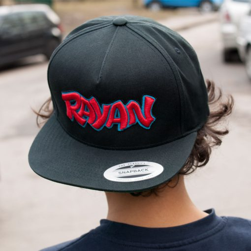 RAYAN Name Embroidered Snapback Hat