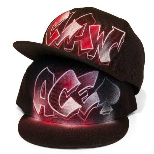 Graffiti Snapback Caps
