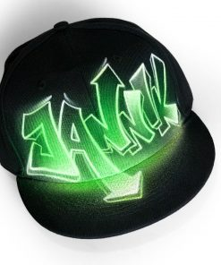 Custom Painted Graffiti Hat | JANNIK