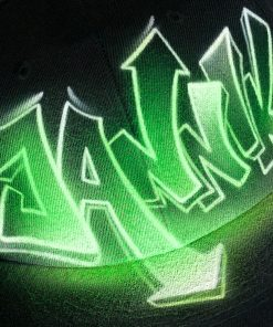 Custom airbrushed name JANNIK