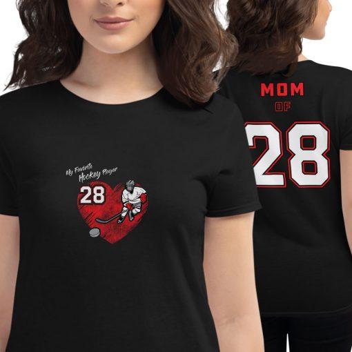 Personalized Hockey MOM Tee