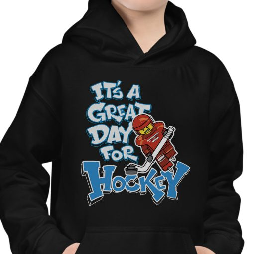 It's a great Day for Hockey Hoodie for Kids