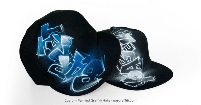 Airbrushed Graffiti Hats